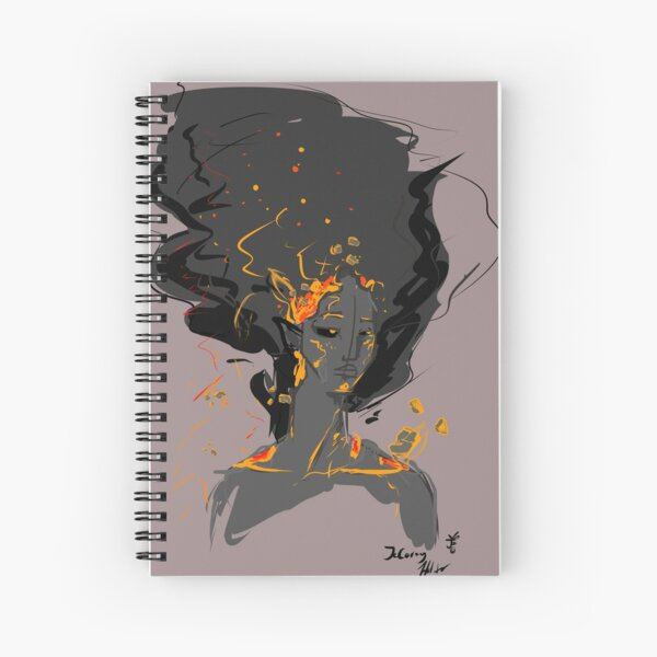 This Is Fine Spiral Notebook