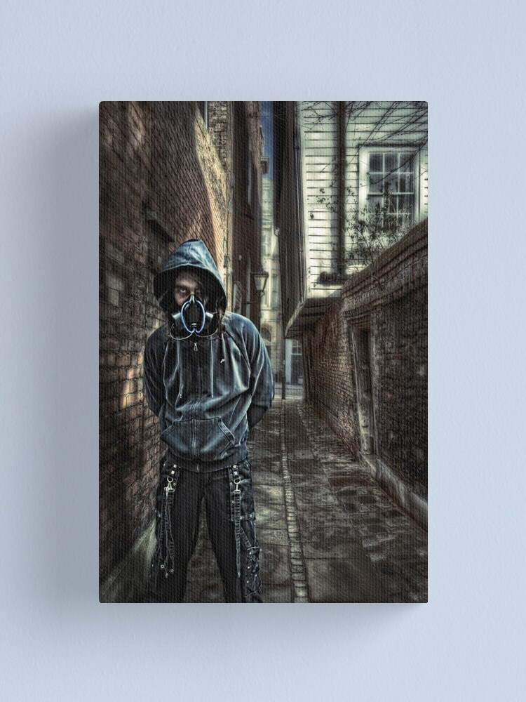 Alternate view of Cyber Punk Canvas Print