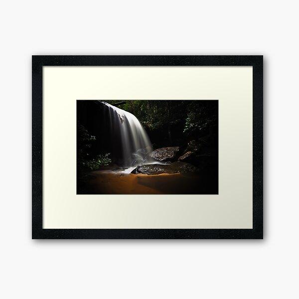 Falling Light Framed Art Print