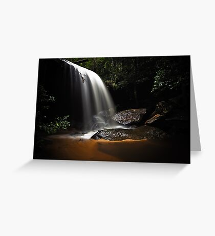Falling Light Greeting Card