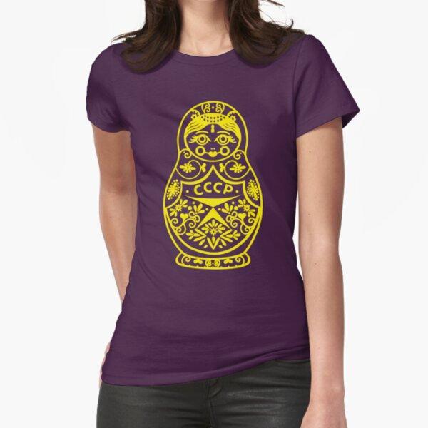 Matryoshka CCCP Fitted T-Shirt
