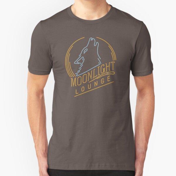 MOON LIGHT LOUNGE* Slim Fit T-Shirt
