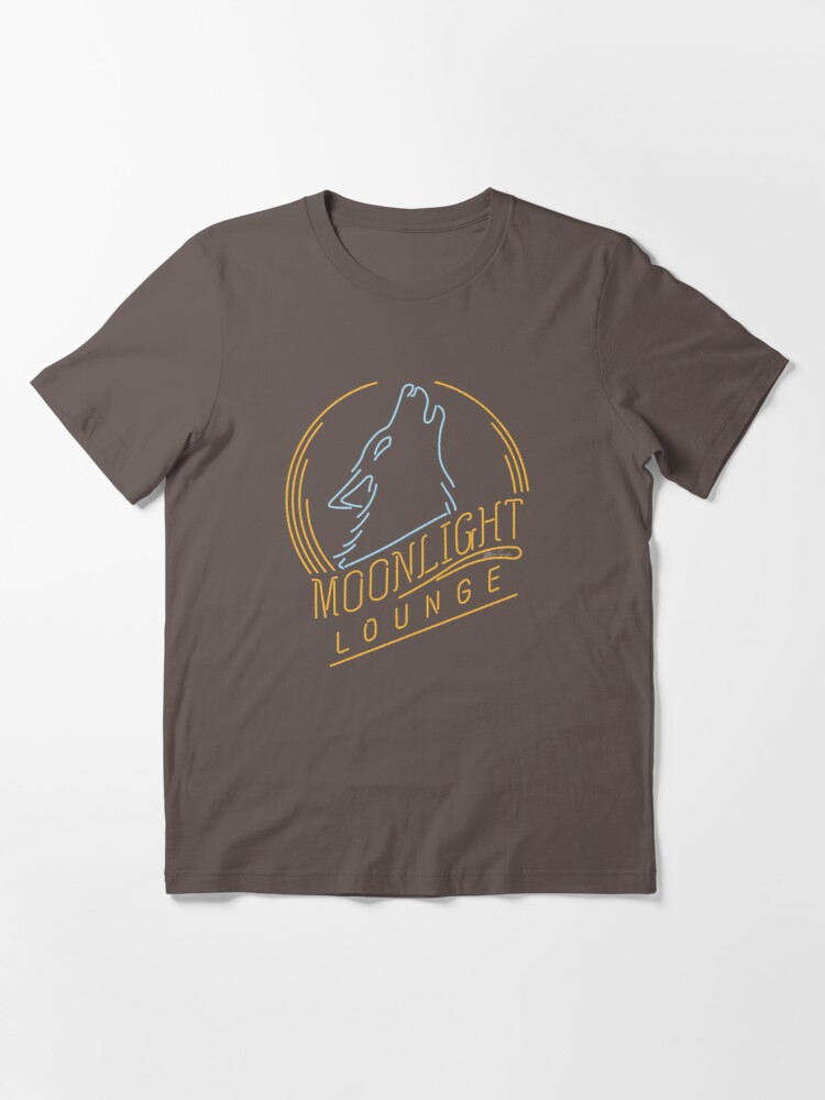 Alternate view of MOON LIGHT LOUNGE* Essential T-Shirt