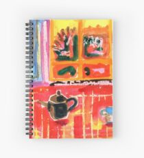 Red Table Spiral Notebook