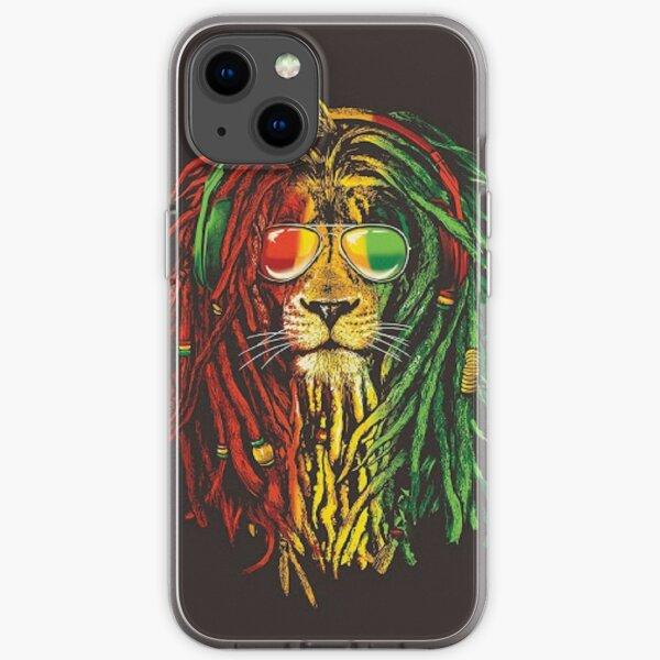 Rasta Lion iPhone Case iPhone Soft Case