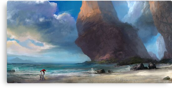 Walk On The Beach by Steve Goad
