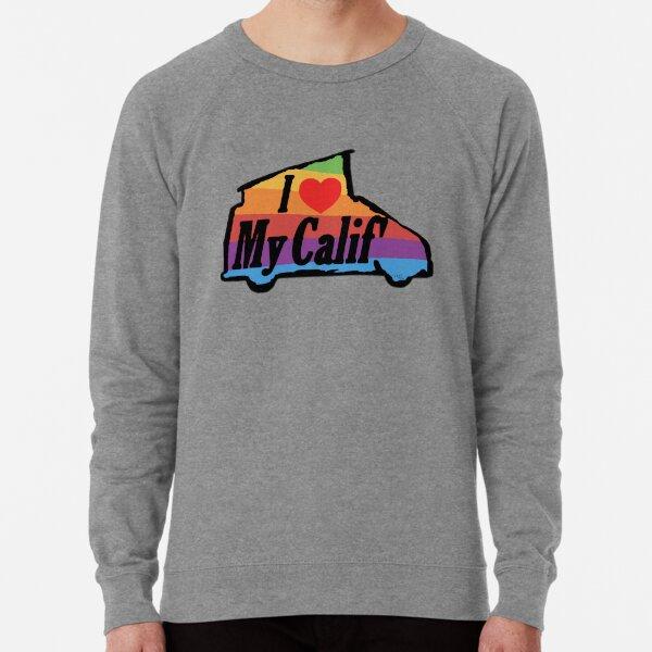 Amo mi arco iris de VW California Sudadera ligera