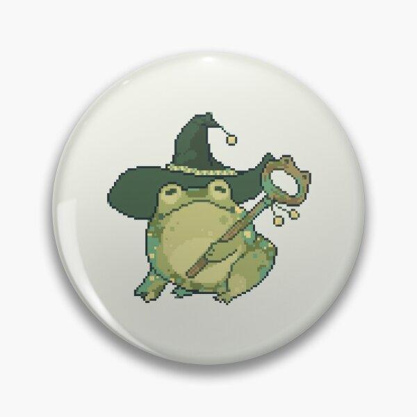 frog mage Pin
