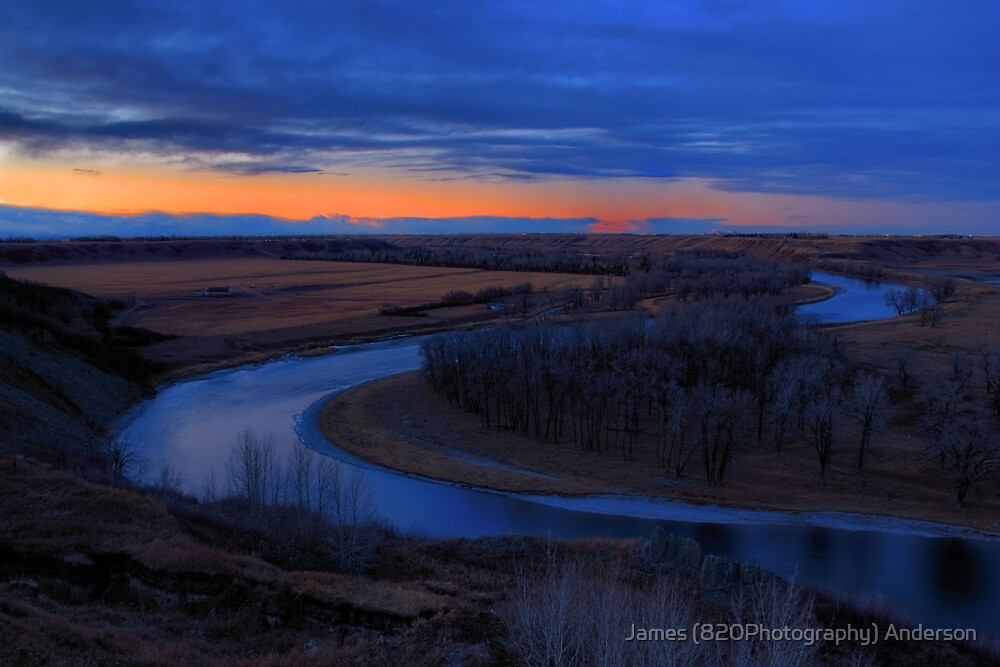 Bow River Valley by James Anderson