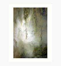 Weepin Willows Art Print