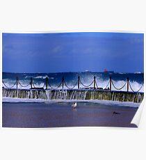 Newcastle Ocean Baths Poster