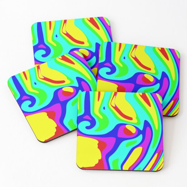 Trippy Coasters (Set of 4)