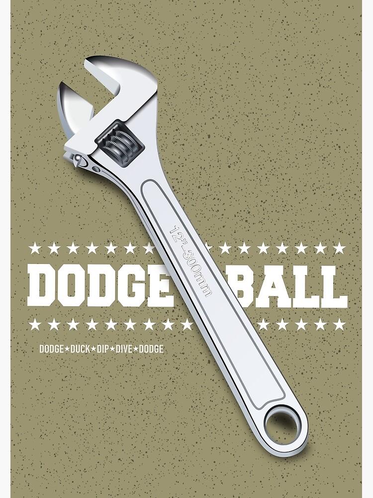 Dodgeball - Alternative Movie Poster by MoviePosterBoy