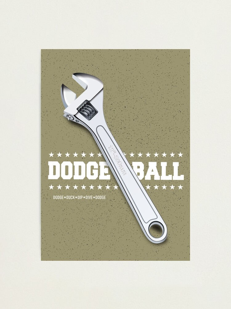 Alternate view of Dodgeball - Alternative Movie Poster Photographic Print