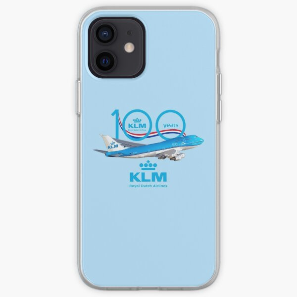 100 years Boeing 747 KLM royal dutch airlines iPhone Soft Case