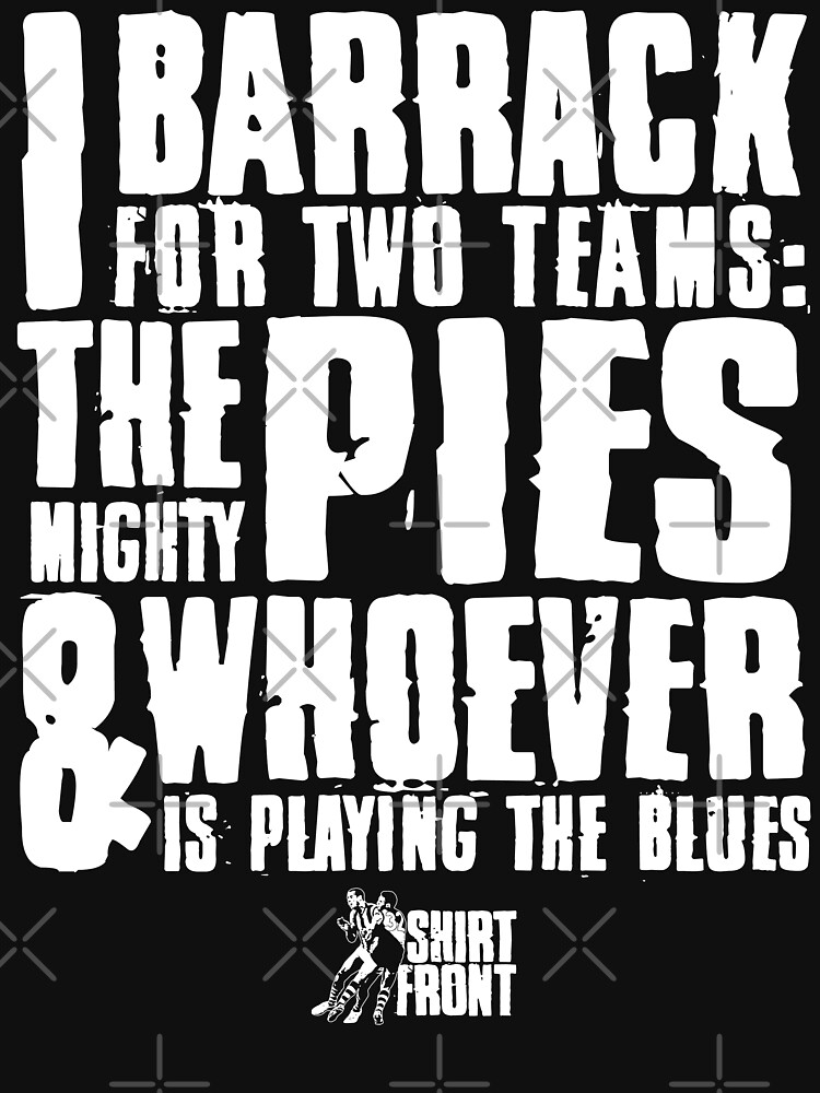 Two Teams: Pies by shirtfront-co