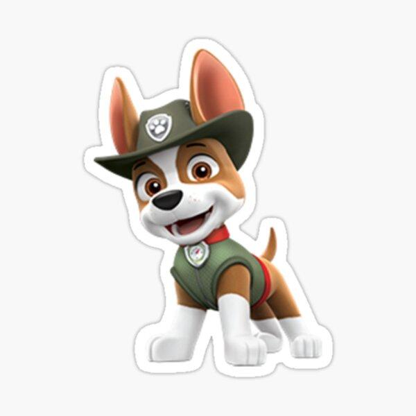 Tracker Paw Patrol Sticker
