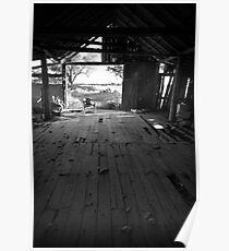 Wool shed Poster