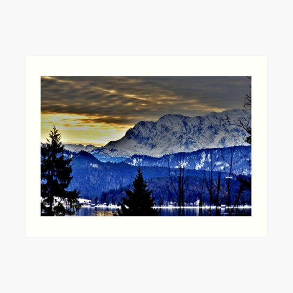 Germany, Mountain Karwendel Art Print