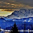 Germany, Mountain Karwendel by Daidalos