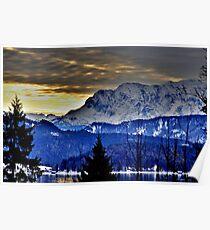Germany, Mountain Karwendel Poster