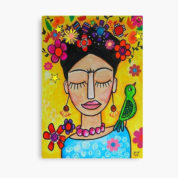 Oeuvre de Frida Khalo Impression sur toile