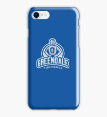 Greendale Football - IPHONE CASE iPhone Case/Skin