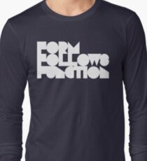 FFF - White Ink Long Sleeve T-Shirt
