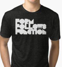 FFF - White Ink Tri-blend T-Shirt