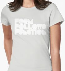 FFF - White Ink Women's Fitted T-Shirt