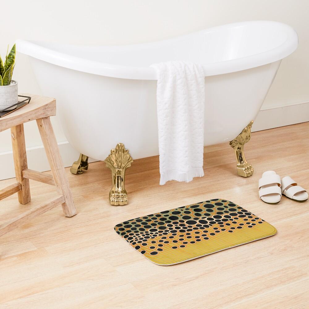 Trout Camo Bath Mat