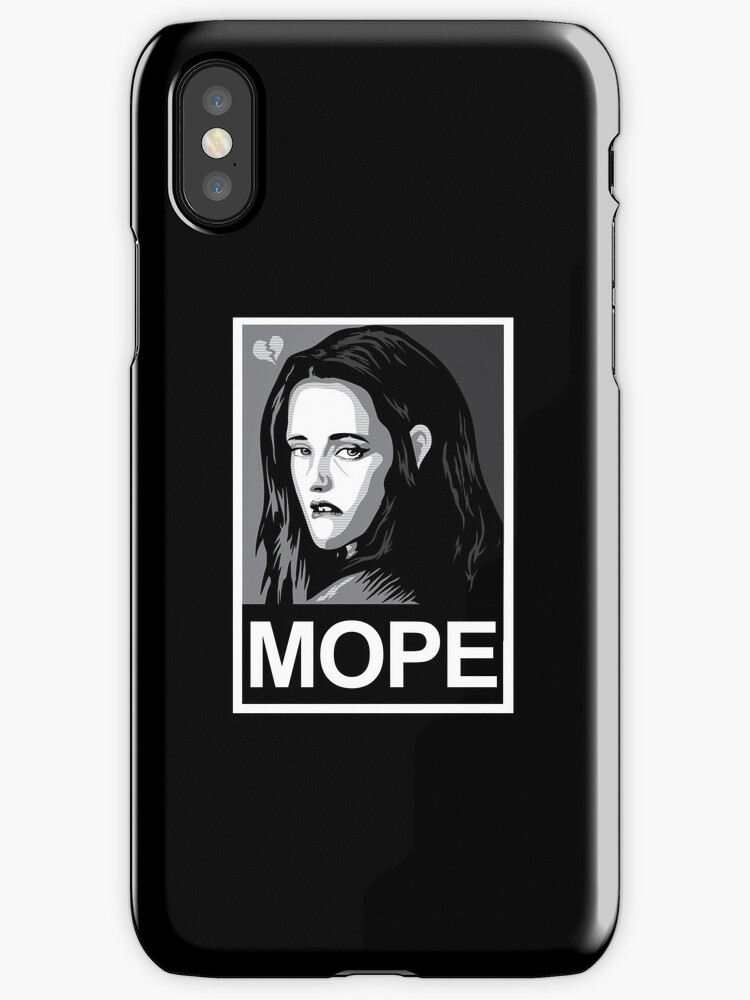 MOPE - IPHONE CASE by WinterArtwork