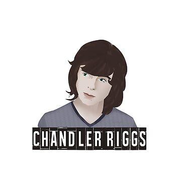 Chandler Riggs AKA Carl Grimes / The Walking Dead by DMJADESIGN