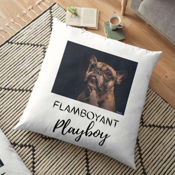 Flamboyant Playboy Floor Pillow