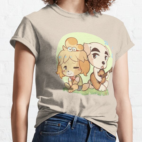 Animal Crossing Isabelle and K.K. Slider Classic T-Shirt