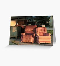 Roadside Recliners Greeting Card
