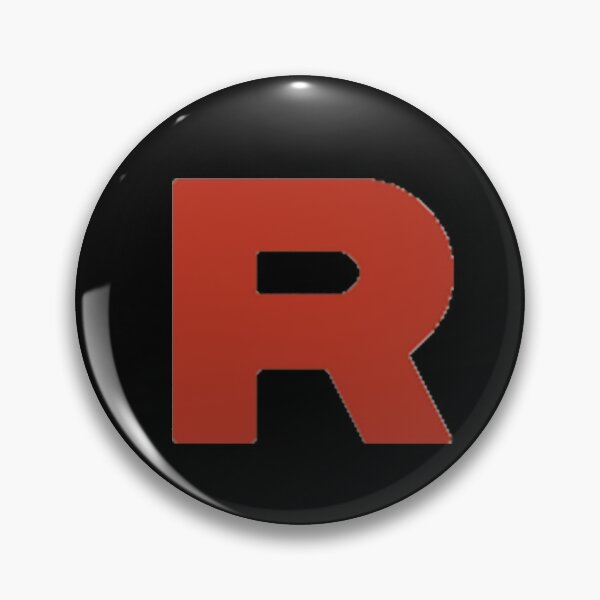 Team Rocket Symbol Pin