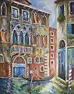 Venice - Romantic Row by Stefano Popovski