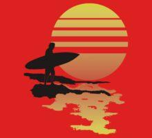 Surfing Sunrise | Unisex T-Shirt