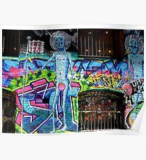 Graffiti Melbourne Poster