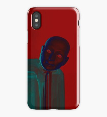 Hugo Man of a Thousand Faces iPhone red iPhone Case/Skin
