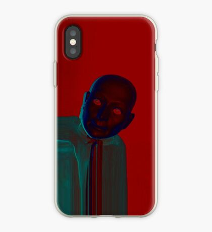 Hugo Man of a Thousand Faces iPhone red iPhone Case