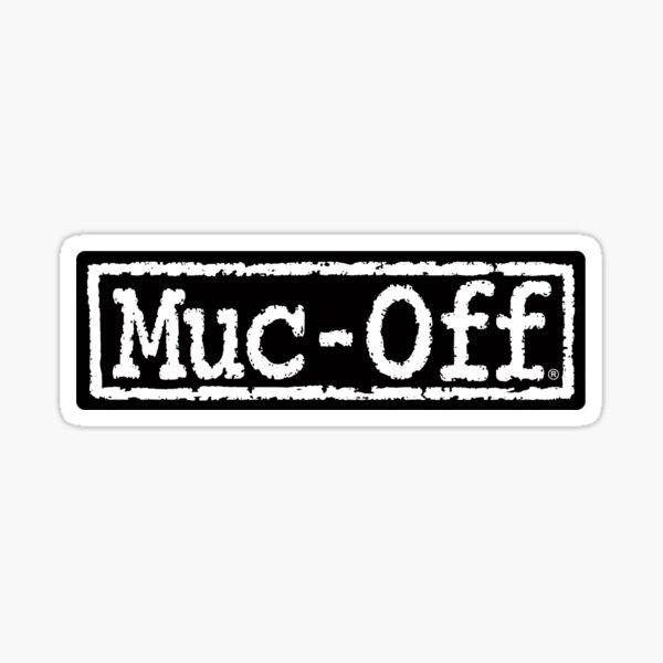 muc-off logo Sticker