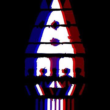 Skull Clown - Black by scribbledeath