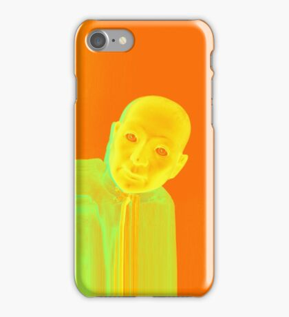Hugo Man of a Thousand Faces iPhone orange iPhone Case/Skin