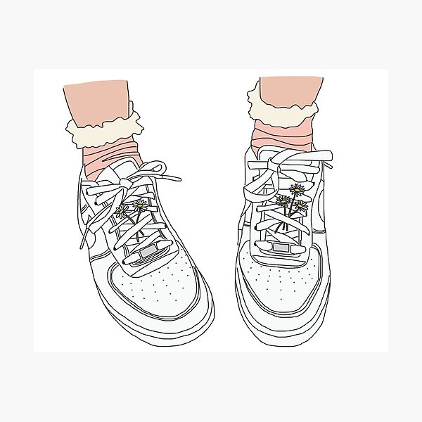 Air Force Ones Photographic Print