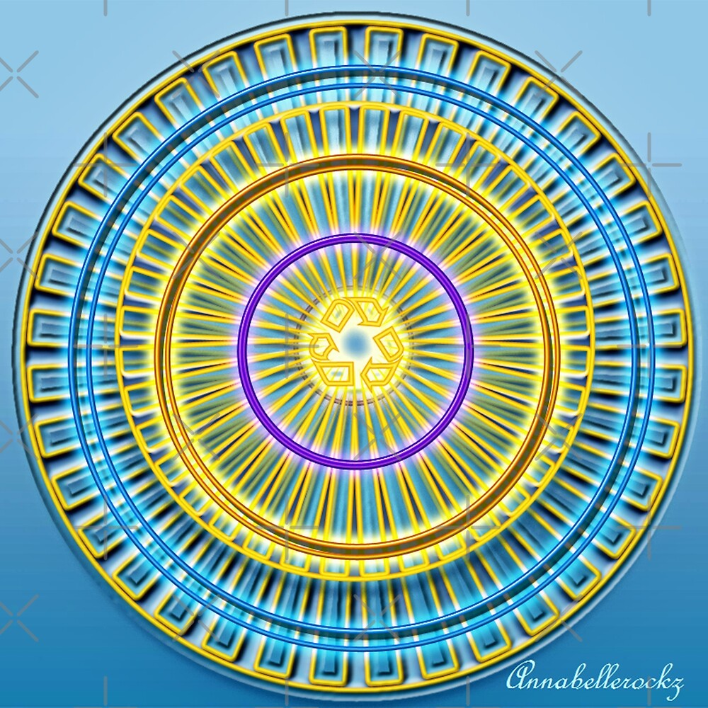 The Blue wheel by Annabellerockz