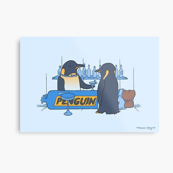 Penguin bar Metal Print