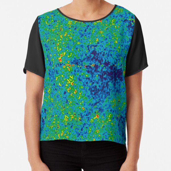 Cosmic Microwave Background Radiation. Isn't Science Wonderful? Chiffon Top