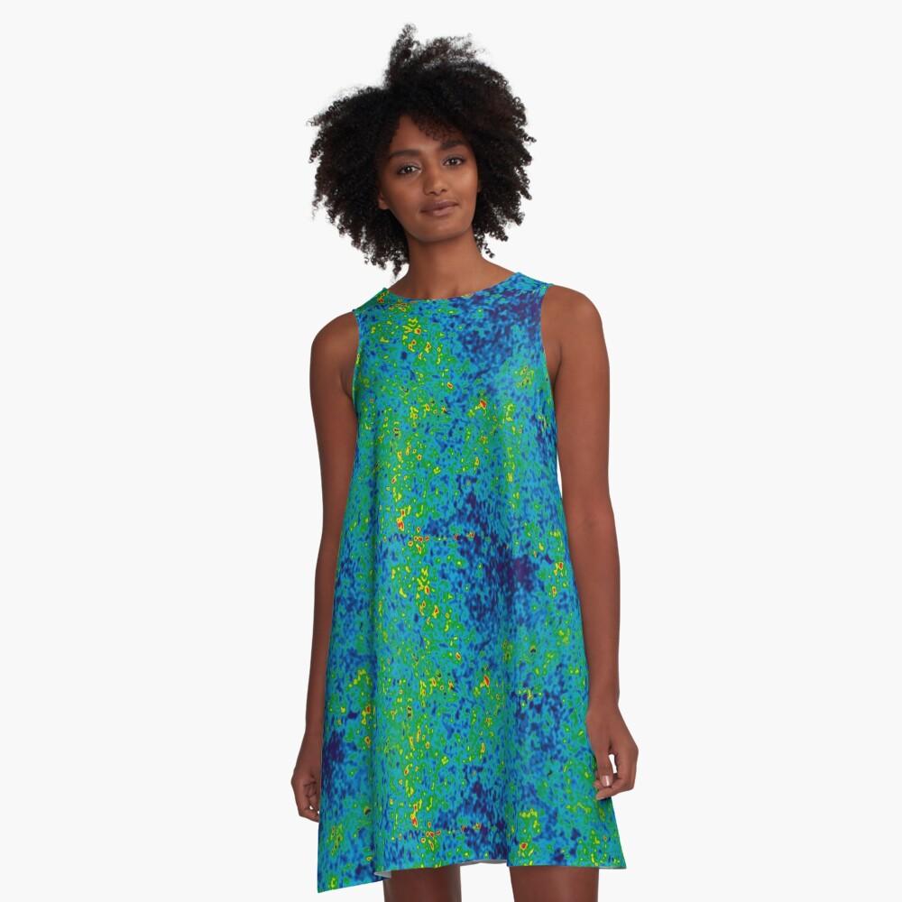 Cosmic Microwave Background Radiation. Isn't Science Wonderful? A-Line Dress
